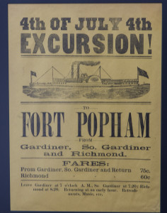 Fort Popham Poster